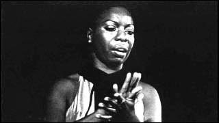 Watch Nina Simone My Baby Just Cares For Me video