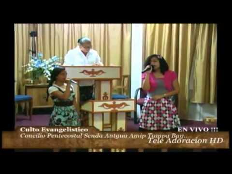 Culto Evangelistico Concilio Pentecostal Senda Antigua AMIP Tampa Bay. 11-01-2015