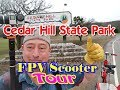 Cedar Hill State Park, Texas [Official FPV Scooter Tour] Camping At Joe Pool Lake