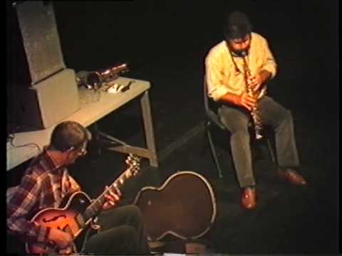 Derek Bailey and Evan Parker - improvisation #3 (excerpt) (1985/04/22)