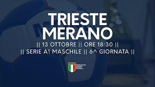 Serie A1M [6^]: Trieste - Merano 23-23