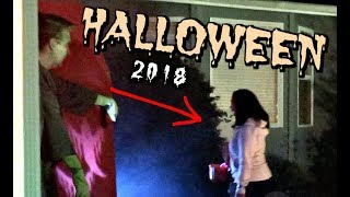 OUR TERRIFYING HALLOWEEN! -  ItsJudysLife Vlogs