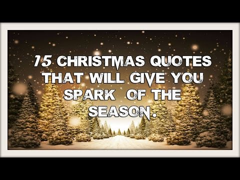 15 Most Beautiful Christmas Quotes