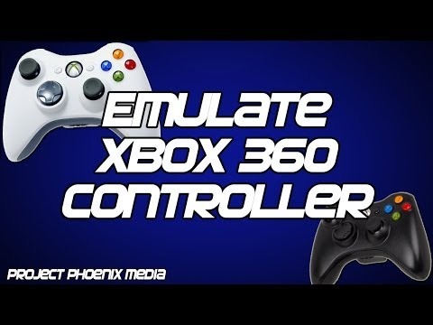 [How To] Make Your PC Gamepad Controller Emulate the Xbox 360 Controller Tutorial
