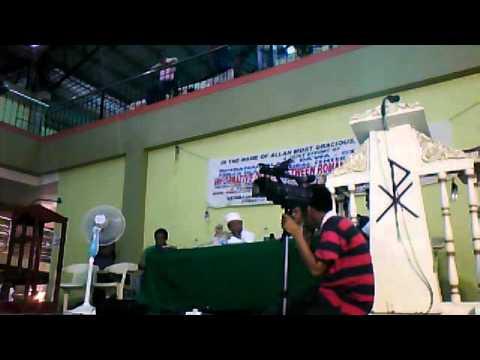Bro. Wendell Talibong (CFD) vs Ustadj Ibrahim Romas (Muslim) -Grand Debate- Part 7 Q&A