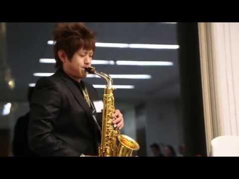 Saxophonist Shun Kumagai, TOMODACHI Suntory Music Scholar