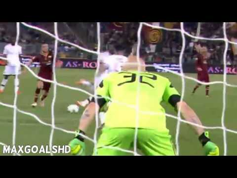Roma vs AC Milan 2 0 ~ All Goals & Highlights 25 04 2014 youtube original