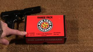 Review: Red Army Standard 7.62x25 Tokarev