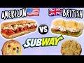 AMERICAN vs. BRITISH Subway Food MP3