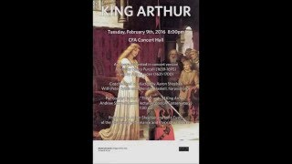 """King Arthur"", Act III, Cupid - Henry Purcell (Katherine Beckvold)"