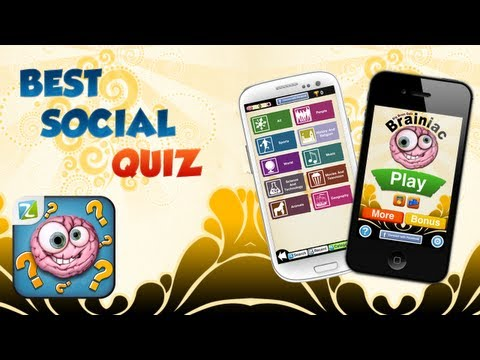 Big Brain Quiz Brainiac | Multiplatform Trivia Game [Apple, Google Play, Amazon, Facebook]