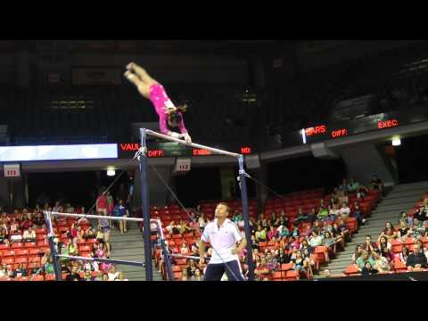 Katelyn Ohashi - Uneven Bars - 2012 Secret U.S. Classic
