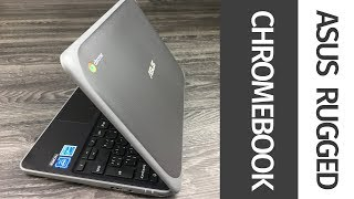 "ASUS C202SA 11.6"" Rugged Chromebook - (Intel Celeron N3060/16GB HDD/2GB RAM/Chrome OS) UNBOXING"