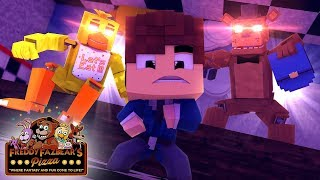 OS BEBÊS POLICIAIS FORAM ATACADOS POR ANIMATRONICS DO FIVE NIGHTS AT FREDDY'S !!! - MINECRAFT