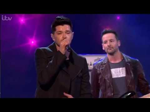 The Script, on The Pride of Britain 7th October 2014