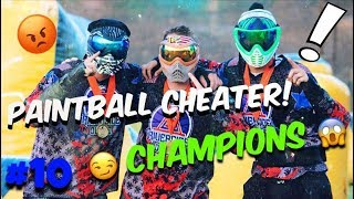 PAINTBALL CHEATER IN TOURNAMENT !! // WINNING WCPPL EVENT # 2 // JUNGLE ISLAND PAINTBALL #10