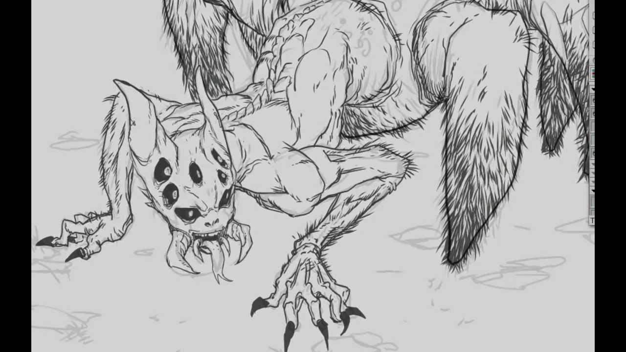 Fantasy Creature Drawings Fantasy Creatures