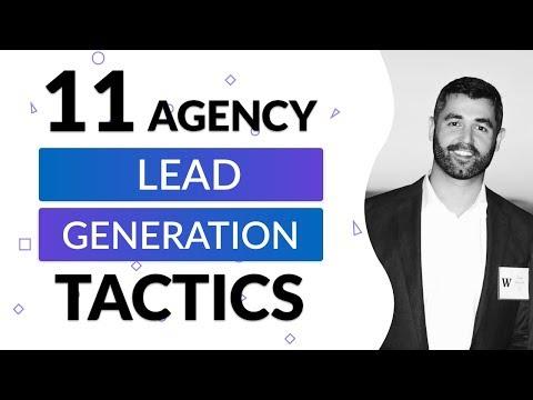 11 Agency Lead Generation Tactics