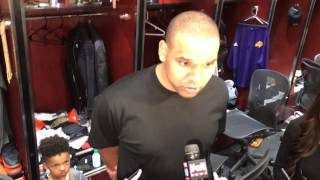 Jared Dudley post game 4/9