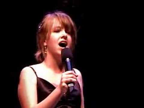 Katie Mayhew at Boston Pops High School Sing Off Semi Finals singing Being Alive