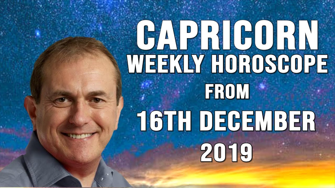 Weekly Horoscopes from 16th December 2019