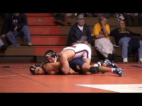 165 lbs college match, Donnie Jones, wvu, vs Jarrod King, Edinboro,