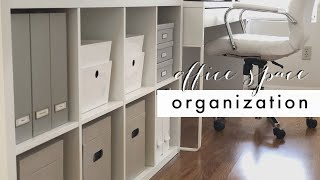 Small Space Organizing | Office Space Organization | Neatly Placed with Stephanie