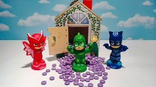 Learn Colors with PJ Masks and Super Smartie Surprise