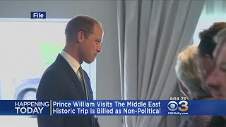 Prince William Visits The Middle East For Historical Non-Political Trip