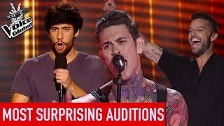 Download Lagu The Voice | TOP 5 MOST SURPRISING Blind Auditions [PART 2] Gratis STAFABAND