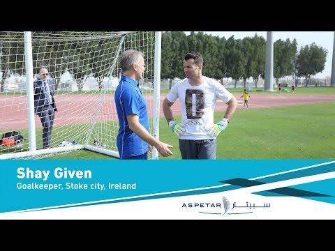 Stoke City & Ireland national team goalkeeper Shay Given