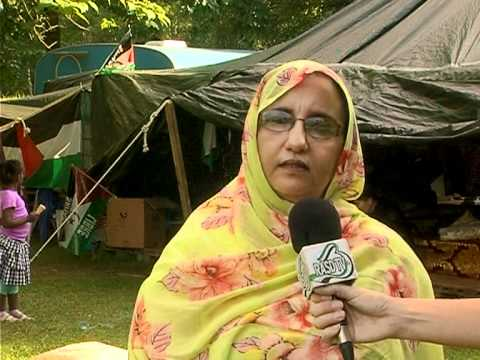 dOCUMENTA 13: Presentación de ARTifariti 2012 en la Jaima de Robin Kahn y las mujeres saharauis