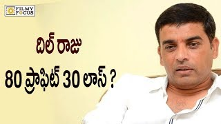 Producer DIL RAJU 80 Profit 30 loss in Loss  | Celebs News | Tollywood News