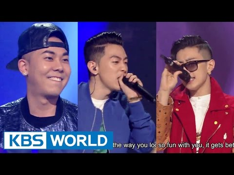 Jay Park & Gray & Loco - JOAH / Just Do It / You Don't Know / Dangerous [Yu Huiyeol's Sketchbook]