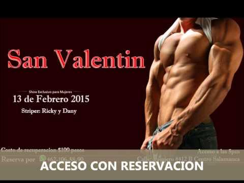 SAN VALENTIN SHOW SOLO PARA ELLAS VIP SALAMANCA