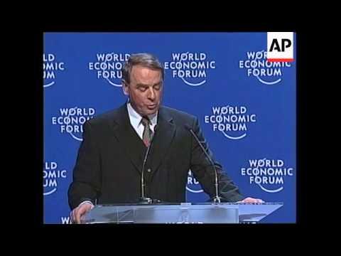 SWITZERLAND: DAVOS: WORLD ECONOMIC FORUM (2)