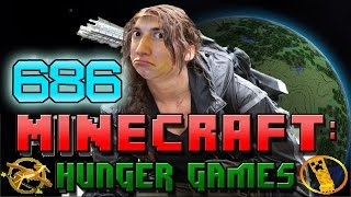 Minecraft: Hunger Games w/Bajan Canadian! Game 686 - FAST SPACE GAMES!
