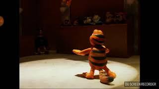 Garfield vs heathcliff anime fight