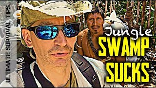 NEW! Crazy 49lb Survival Backpack - Almost Killed Me + INSANE Jungle Swamp Adventure