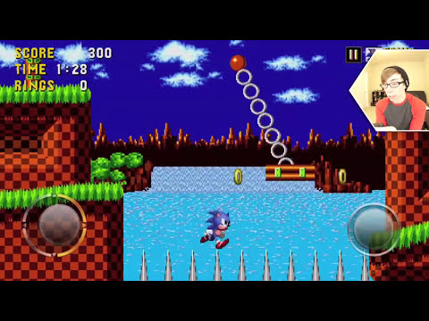 SONIC THE HEDGEHOG - Part 1 (iPhone Gameplay Video)