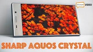 Обзор Sharp Aquos Crystal: японский безрамочный смартфон
