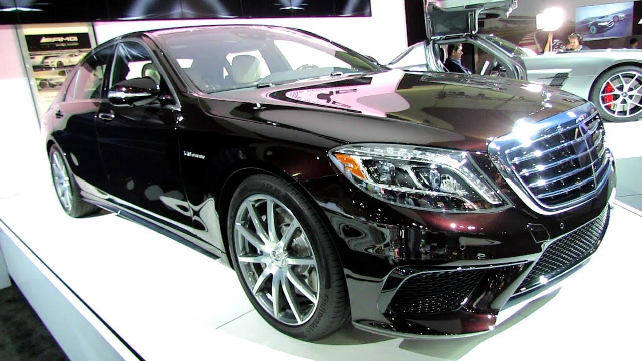 Mercedes Benz s Class 2014 Black Amg 2014 Mercedes Benz s Class S63