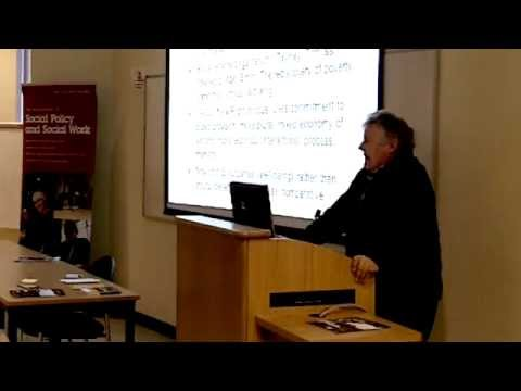 What is Social Policy? - Lecture by Professor Jonathan Bradshaw for prospective students