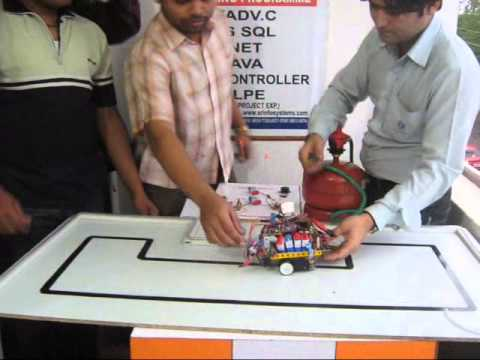 GAS SENSOR ROBOT TESTING  IAR  INSTITUTE OF ADVANCED ROBOTICS