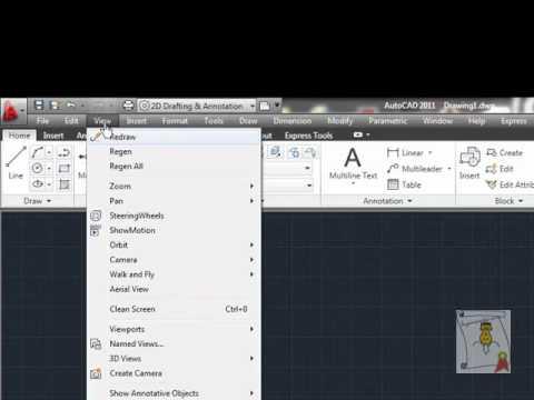 Autocad - 5. [Interfaz] Menú principal de herramientas