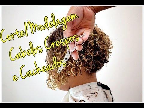 Cabelos Crespos e Cacheados: Corte/Modelagem para CACHOS com mais VIDA e DEFINI��O