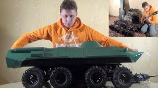 Устройство БТР-80 масштаба 1/6 на базе Krohpit ATV (Russian version)