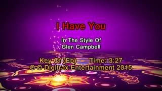 Watch Glen Campbell I Have You video