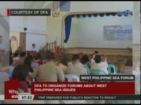 DFA to organize forums about West Philippine Sea issues