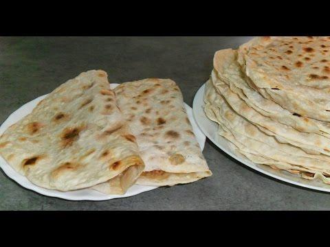 Ламаджо по-армянски, тонкие лепешки с острой начинкой рецепт от Inga Avak